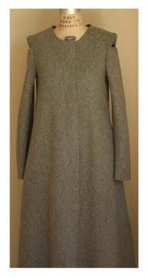 artlab coat no.1 smoke grey