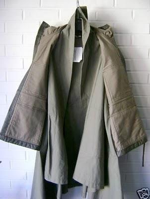 CdG coat inside