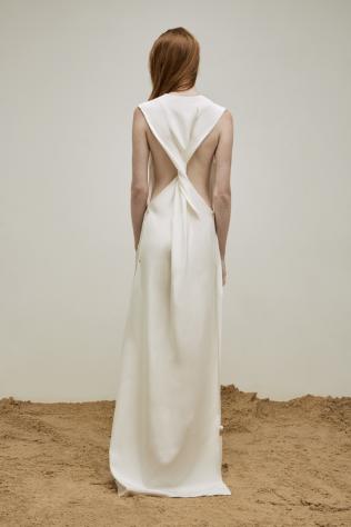 yousef-akbar-white-twist-dress-back